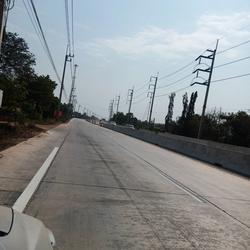 ขายที่ดิน 8 ไร่ ติดถนนใหญ่สายบ้านโพธิ์-แปลงยาว (3304) อ.บ้านโพธิ์ จ.ฉะเชิงเทรา รูปเล็กที่ 1