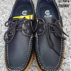 รองเท้าคัชชูหนังผู้ชาย boat shoes วัสดุหนังPU คุณภาพดี  รูปเล็กที่ 5