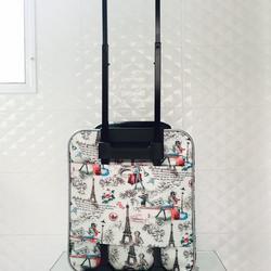 กระเป๋าเดินทางแบบผ้า ลายหอไอเฟล 16 นิ้ว รูปเล็กที่ 4