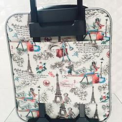 กระเป๋าเดินทางแบบผ้า ลายหอไอเฟล 16 นิ้ว รูปเล็กที่ 5