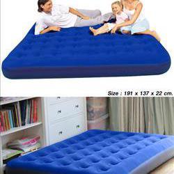ที่นอนเป่าลม : สีน้ำเงิน รูปเล็กที่ 1
