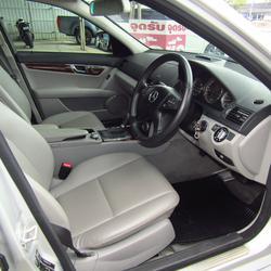 ⭐ ฟรีดาวน์ ออกรถ 0 บาท Benz C 200 K ELEGANCE ปี 2008 W 204 เบ็นซ์ รถบ้าน รถมือสอง รูปเล็กที่ 5