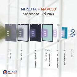 MITSUTA เครื่องฟอกอากาศ 8 ขั้นตอน 40-70 ตรม. รุ่น MA รูปเล็กที่ 5