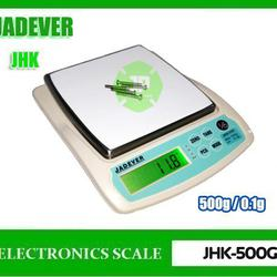 เครื่องชั่งดิจิตอล เครื่องชั่ง ละเอียด500g ละเอียด0.1g ยี่ห้อ JADEVER รุ่น JKH-500  รูปเล็กที่ 1