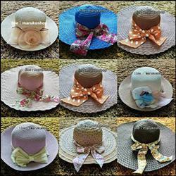 หมวกแฟชั่น หมวกไปทะเล หมวกปานามา สวยๆราคาถูกๆ รูปเล็กที่ 1