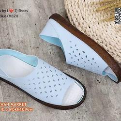 รองเท้าลำลอง หนังpuนิ่มมากกกก ใส่ได้2แบบ เปิดส้นหรือหุ้มส้น รูปเล็กที่ 3