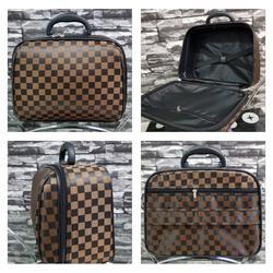 กระเป๋าเดินทางแบบผ้า 13 นิ้ว ลาย Louise Brown Classic รูปเล็กที่ 1