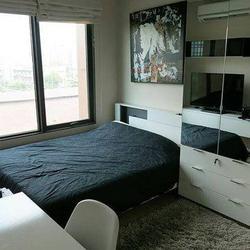 Condo next to BTS Asoke for rent Villa Asoke 1 bed