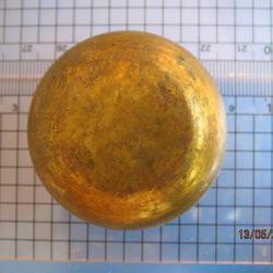 1982 ถ้วยทองเหลือง ความกว้างขนาด 2 นิ้ว สูง 1 นิ้ว ถ้วยทองเห รูปเล็กที่ 4