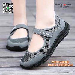 รองเท้าผ้าใบ แบบสวม วัสดุผ้าใบอย่างดี น้ำหนักเบ๊าเบา  รูปเล็กที่ 1