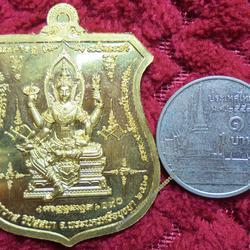เหรียญลพ.รักษ์รุ่นมนต์นารายณ์ ทองฝาบาตรลงยาจีวรและพญานาค รูปเล็กที่ 4