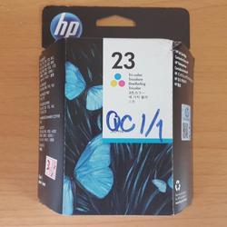 ตลับหมึกสี HP 23 Tri-color Ink Cartridge (C1823D) แท้ รูปเล็กที่ 2