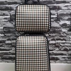 กระเป๋าเดินทางแบบผ้า เซ็ทคู่ 18/13 นิ้ว ลาย Khaki/Brown รูปเล็กที่ 2