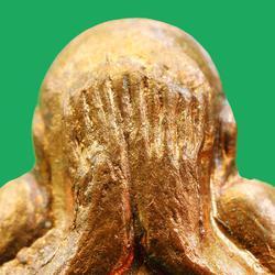 พระปิดตาหลังรูปเหมือน หลวงปู่ทิม วัดละหารไร่ ปี พ.ศ.2517...สวยเดิม รูปเล็กที่ 3