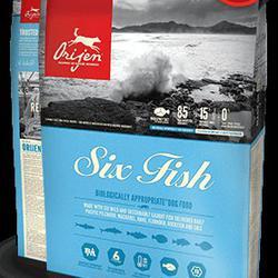 Orijen Six Fish ชนิดเม็ด สูตรปลา 6 ชนิด 12 กิโลกรัม รูปเล็กที่ 1