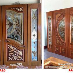 door-woodhome.com ประตูไม้สักกระจกนิรภัย,ประตูไม้สักโมเดิร์น, ประตูไม้สักบานเลื่อน, ประตูหน้าต่างไม้สัก รูปเล็กที่ 4