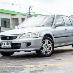 รถบ้าน ปี 2001 Honda City 1.5EXI เบนซิน สีเทา รูปเล็กที่ 1