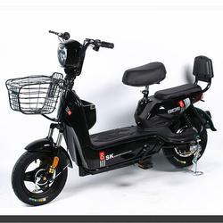 💥(จำนวนจำกัด)รถไฟฟ้า จักรยานไฟฟ้ารุ่นอัพเกรด  มีที่ปั่น มอเตอร์48V เหมาะสำหรับขับในเมือง มี 4 สี รูปเล็กที่ 5
