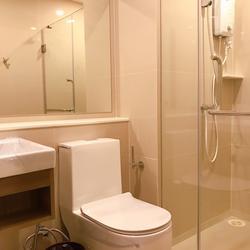 Fully furnished For rent ให้เช่า ฿12,000 ห้อง 25 ตร.ม. 8F ใหม่พร้อมอยู่ Aspire อโศก-รัชดา **รับ Agent รูปเล็กที่ 1
