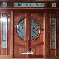 door-woodhome.comร้านวรกานต์ค้าไม้ จำหน่าย ประตูไม้สัก,ประตูไม้สักกระจกนิรภัย, หน้าต่างไม้สัก วงกบ ประตูไม้สักแพร่ รูปเล็กที่ 2
