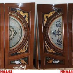 ประตูไม้สัก,ประตูไม้สักกระจกนิรภัย ไม้สักเก่า  ร้านวรกานต์ค้าไม้ door-woodhome.com รูปเล็กที่ 3