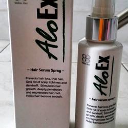 AloEx Hair Regrowth Serum เซรั่มสำหรับคนผมบางและผมร่วง อโลเอ็กซ์ (ส่งฟรี EMS) รูปเล็กที่ 1
