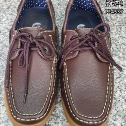 รองเท้าคัชชูหนังผู้ชาย boat shoes วัสดุหนังPU คุณภาพดี  รูปเล็กที่ 3