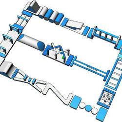 เครื่องเล่นสวนน้ำ obstacle game 20X15เครื่องเล่นสวนน้ำ อุปสรรค 20X15 รูปเล็กที่ 2