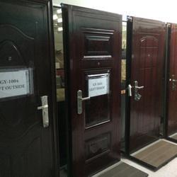 ประตูนิรภัย ประตูสำเร็จรูป ประตูบานเปิด รูปเล็กที่ 2
