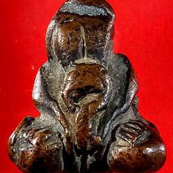 พระปิดตาหลวงปู่เกิด วัดมะเดื่อ เนื้อทองแดงเถื่อน รูปเล็กที่ 6