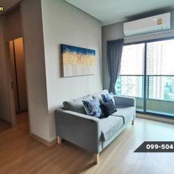 ให้เช่า คอนโด 2 ห้องนอน เครื่องใช้ครบครัน Lumpini Suite เพชรบุรี-มักกะสัน 43 ตรม. แถมยัง Built-In ทั้งห้องด้วยนะ รูปเล็กที่ 2