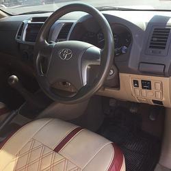 ✅ ฟรีดาวน์ TOYOTA VIGO PRERUNER ปี12-14 รถกระบะ 4 ประตู โตโยต้า วีโก้ รถบ้าน รถมือเดียว รุ่นท็อป รถมือเดียว รูปเล็กที่ 4