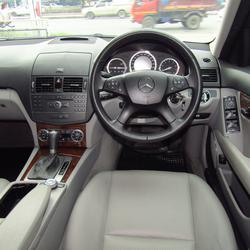 ⭐ ฟรีดาวน์ ออกรถ 0 บาท Benz C 200 K ELEGANCE ปี 2008 W 204 เบ็นซ์ รถบ้าน รถมือสอง รูปเล็กที่ 4