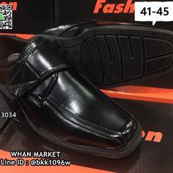 รองเท้าคัชชูผู้ชาย วัสดุหนังPU อย่างดี แบบสวม ทรงสุภาพ  รูปเล็กที่ 5