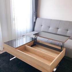 Fully furnished For rent ให้เช่า ฿12,000 ห้อง 25 ตร.ม. 8F ใหม่พร้อมอยู่ Aspire อโศก-รัชดา **รับ Agent รูปเล็กที่ 3
