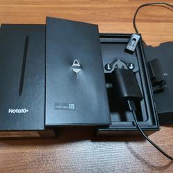ขาย Samsung Note 10 + AuraBlack สภาพสวยมาก ของแท้ อุปกรณ์ครบยกกล่อง รูปเล็กที่ 4