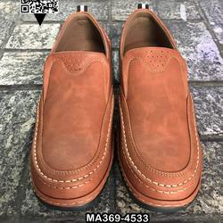 รองเท้าคัชชูหนังผู้ชาย วัสดุหนัง PU คุณภาพดี แบบสวม สวมใส่ง่ รูปเล็กที่ 6