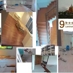 ร้าน 9 บุญมา จำหน่าย และรับติดตั้งปูพื้นไม้ลามิเนต บริการวัดหน้างาน ฟรี 089-257-8236 ช่างต๊ะ รูปเล็กที่ 4