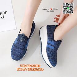 รองเท้าผ้าใบ เสริมส้น 2 นิ้ว วัสดุผ้าใบอย่างดี พื้นยาง  รูปเล็กที่ 6