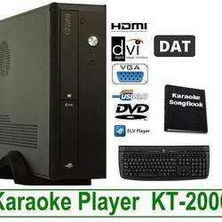 ขาย เครื่องเล่นคาราโอเกะ รุ่น KT-2000 HDD 2 TB อุปกรณ์ครบ รูปเล็กที่ 1