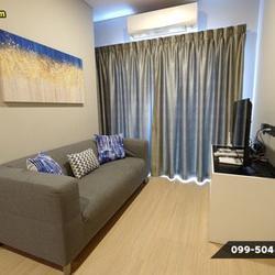 ให้เช่า คอนโด 2 ห้องนอน สะอาด สะดวก สบาย Lumpini Suite เพชรบุรี-มักกะสัน 43 ตรม. แถมยัง Built-In ทั้งห้องอีกนะ รูปเล็กที่ 1