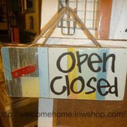 ป้ายเปิด-ปิดสวยๆสำหรับตกแต่งหน้าร้านอาหารตามสั่งร้านกาแฟครับ รูปเล็กที่ 2