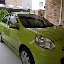 ขายรถเก๋ง Nissan March  2011 เขต ยานนาวา จังหวัด กทม. รูปเล็กที่ 4