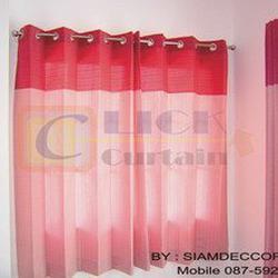 Click Curtain  ผ้าม่านสำเร็จรูปที่มีจำหน่ายหลากสไตล์ เช่น ม่านตอกตาไก่,ม่านคอกระเช้าและม่านจีบ ให้เลือกสรรเพื่อเหมาะกับก รูปเล็กที่ 3