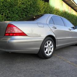 Benz S280 L 2004 ประวัติศูนย์ ระบบถุงลมและไฟฟ้าใช้งานได้สมบูรณ์ ไม่ติดแก๊ส สวยพร้อมใช้งาน  รูปเล็กที่ 2