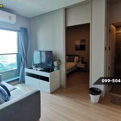 ให้เช่า คอนโด 2 ห้องนอน เครื่องใช้ครบครัน Lumpini Suite เพชรบุรี-มักกะสัน 43 ตรม. แถมยัง Built-In ทั้งห้องด้วยนะ รูปเล็กที่ 1