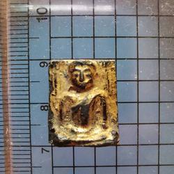 4797 พระรัตนะ แผงตัด ของวัดบางหญ่าแพรก เนื้อทองผสมลงรักปิดทอ รูปที่ 6