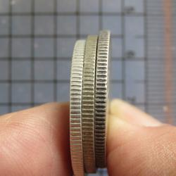 5239 เหรียญร.6 เนื้อเงิน(50สตางค์) พระบรมรูป-ตราไอราพต ปี 24 รูปเล็กที่ 1
