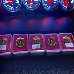 เหรียญ เลื่อนสมณศักดิ์ หลวงพ่อรวย กะไหล่ ทอง รูปเล็กที่ 5