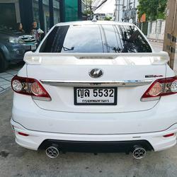 TOYOTA ALTIS SPORTIVO TRD 1.8 รถปี 2011 สีขาว รถบ้าน สวยมากครับ  รูปเล็กที่ 3